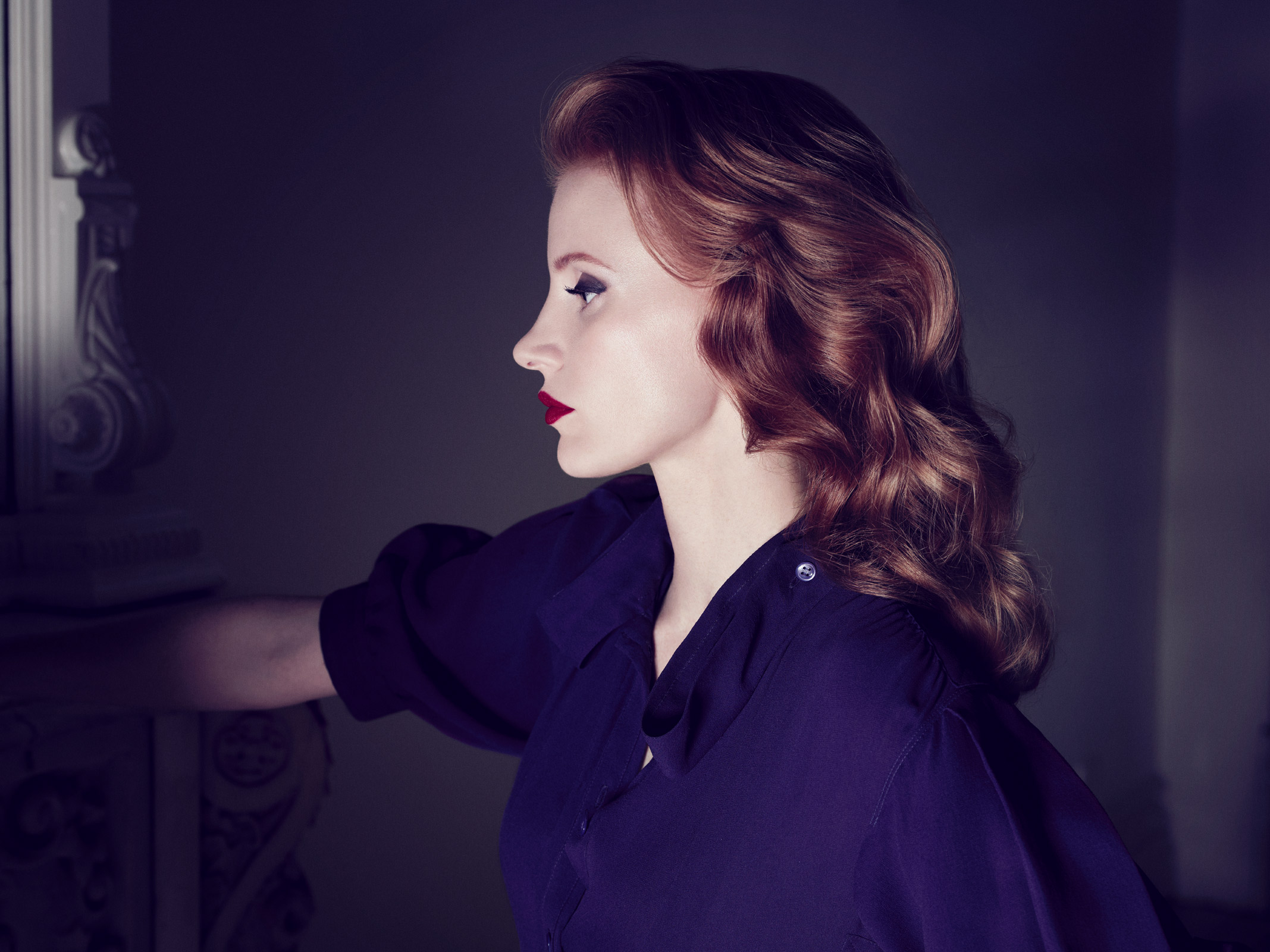 Jessica Chastain - YSL - In The Mood For Movies Jessica Chastain Movies
